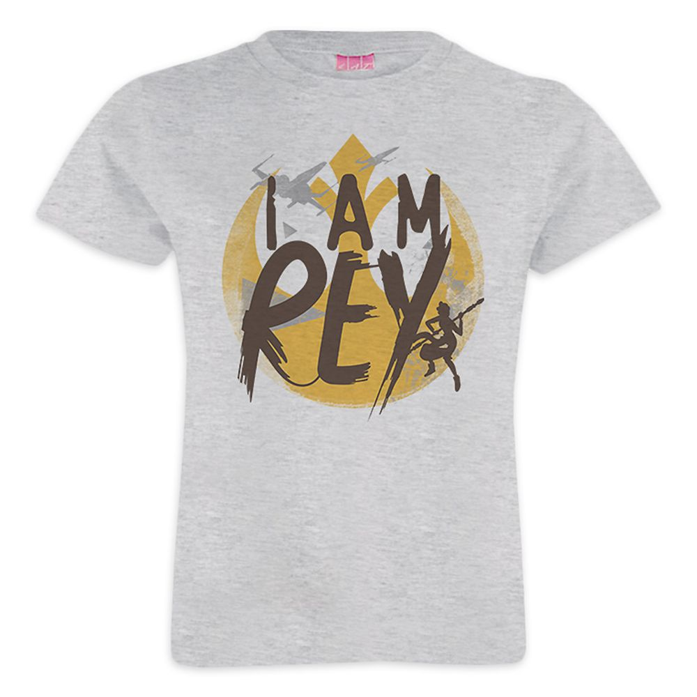 Star Wars ''I Am Rey'' Tee for Girls – Customizable