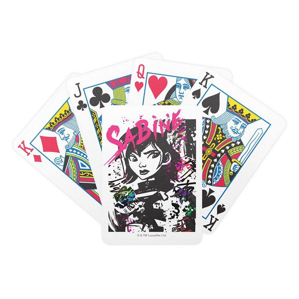 Star Wars Sabine Graffiti Playing Cards  Customizable Official shopDisney