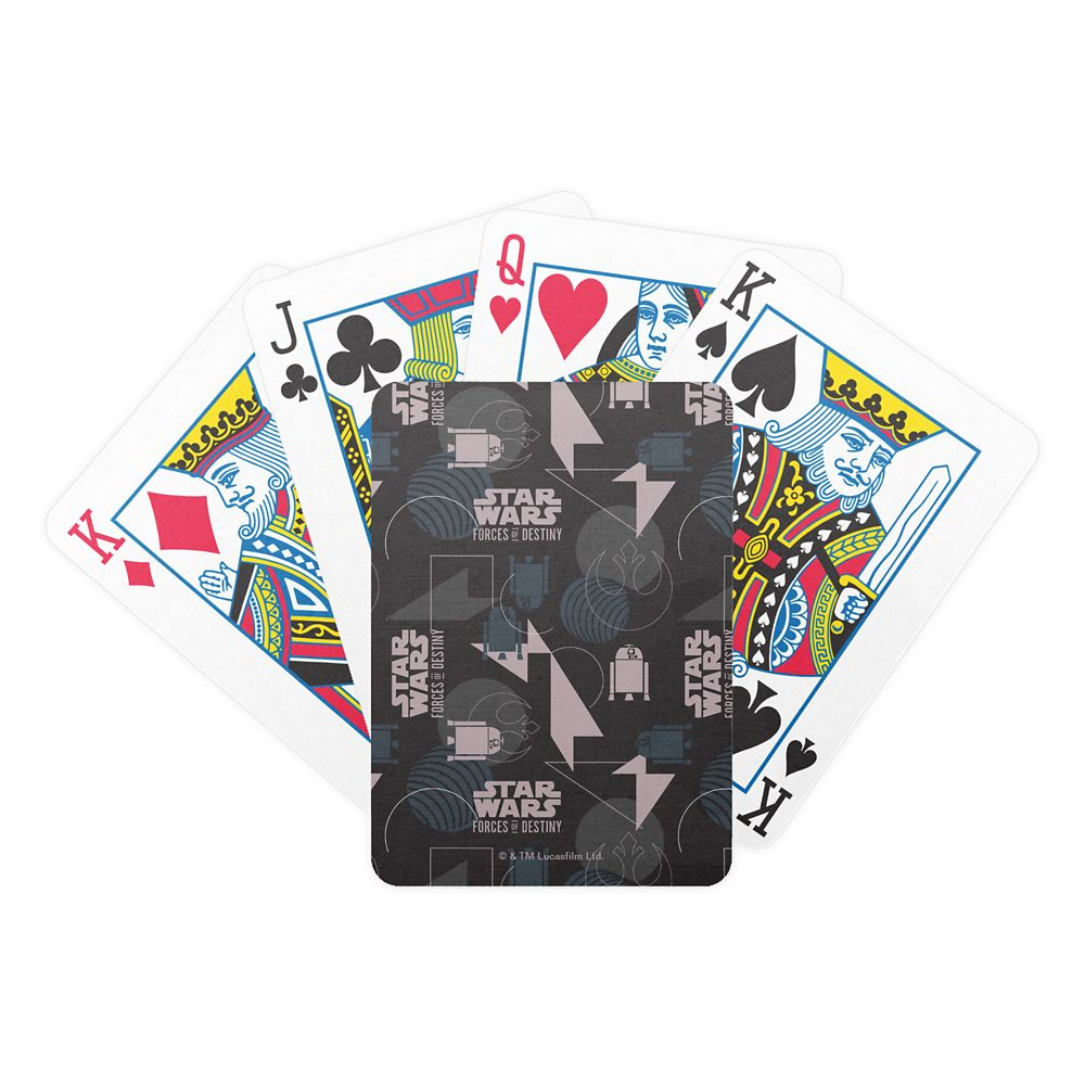 Star Wars Lei Pattern Playing Cards  Customizable Official shopDisney
