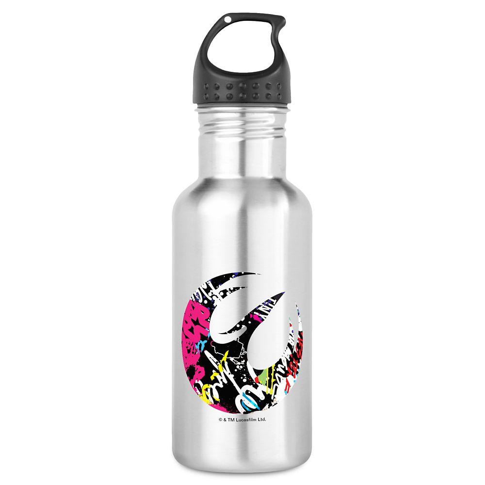 Star Wars Sabine Badge Water Bottle – Customizable