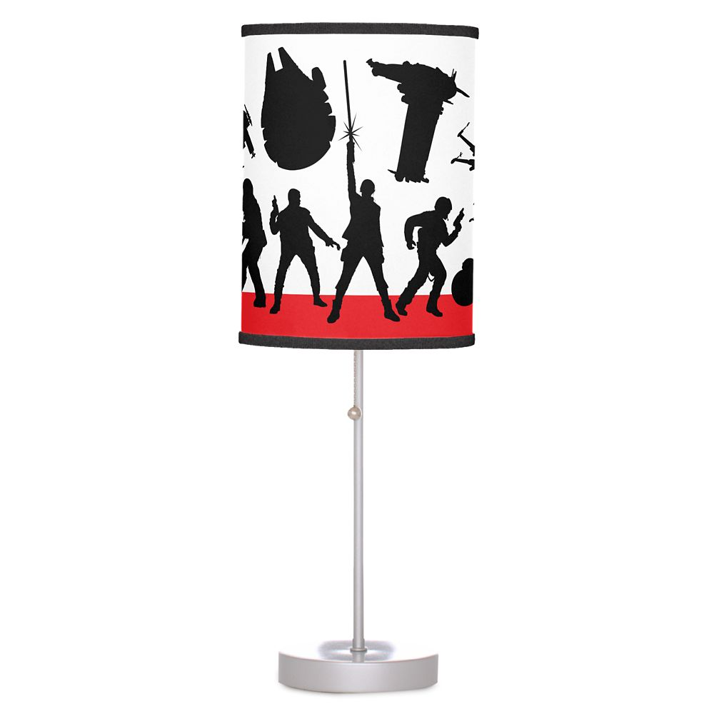 Star Wars: The Last Jedi Resistance Silhouette Lamp – Customizable