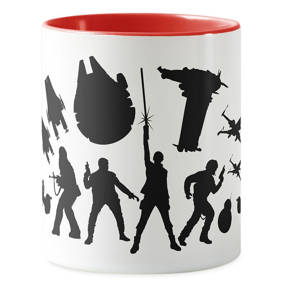 Star Wars: The Last Jedi Resistance Silhouette Mug – Customizable