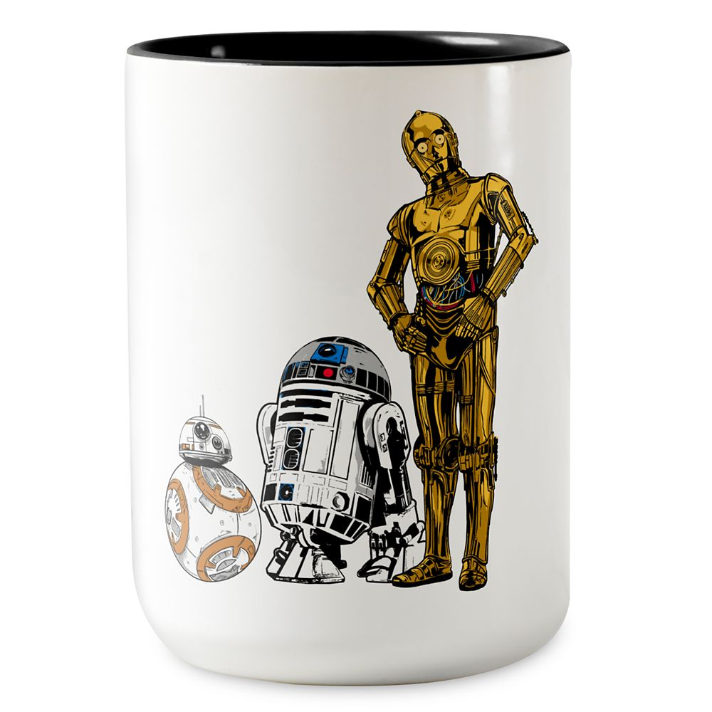 Star Wars: The Last Jedi Droids Coffee Mug – Customizable