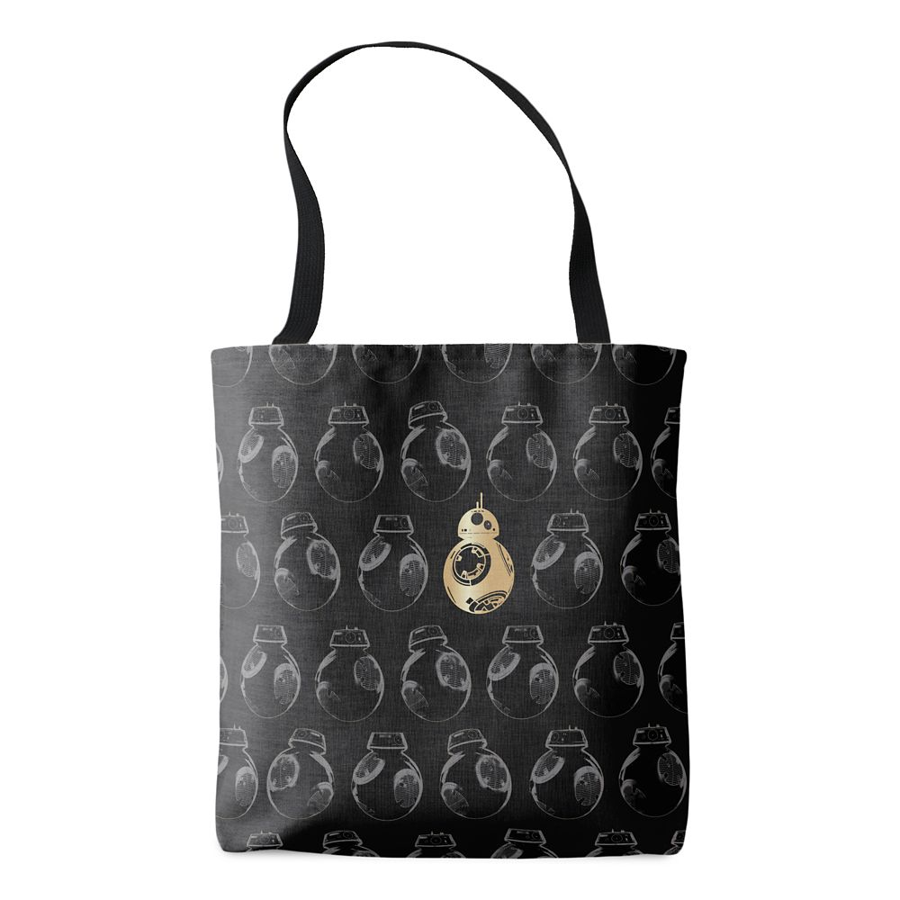 shopdisney.com - Star Wars: The Last Jedi BB-8 & Imperial Droid Tote Bag  Customizable Official shopDisney 19.95 USD