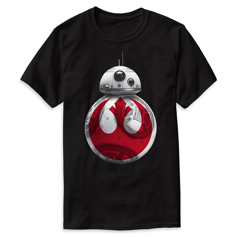 Star Wars: The Last Jedi BB-8 Resistance Allliance T-Shirt for Men – Customizable