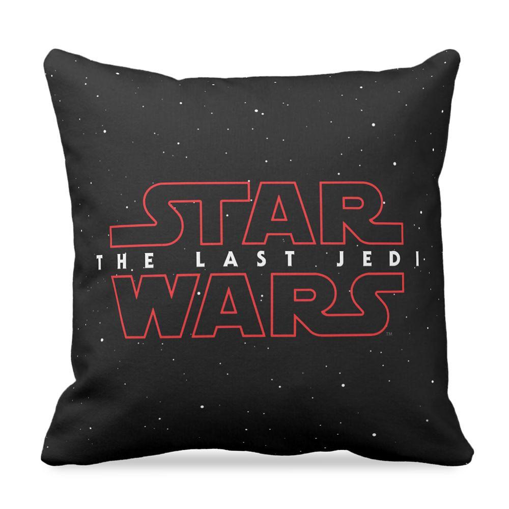 Star Wars: The Last Jedi Logo Pillow – Customizable