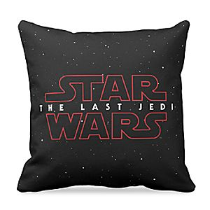 Star Wars: The Last Jedi Logo Pillow – Customizable