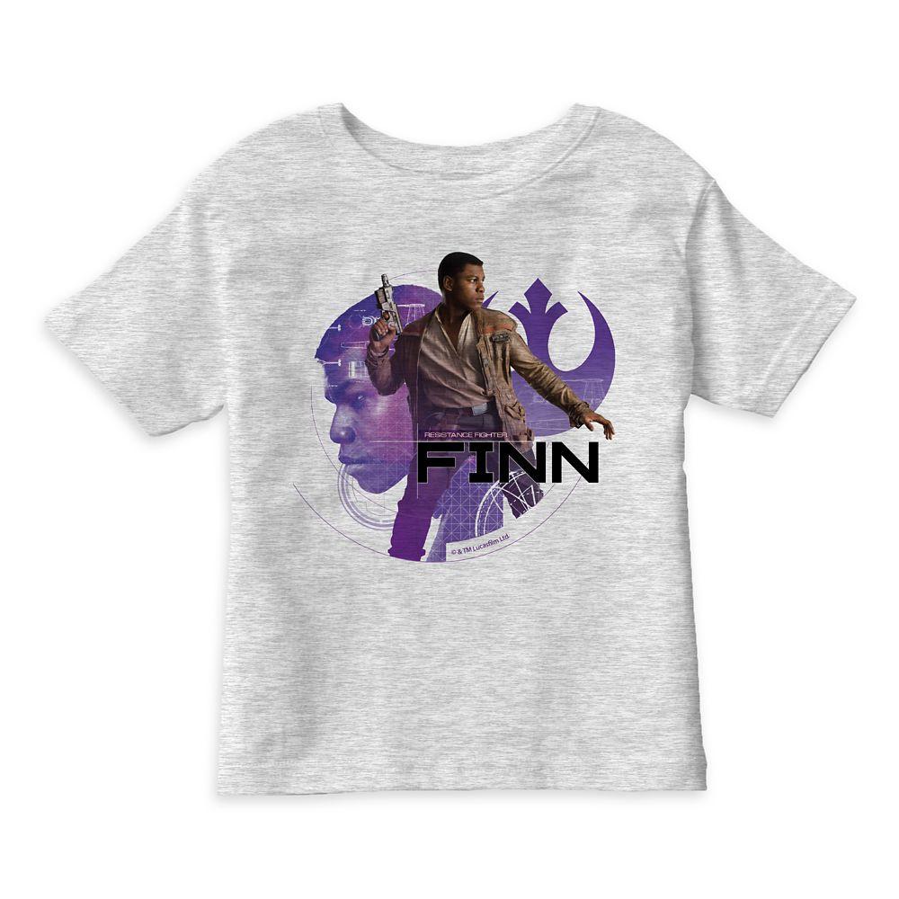 Star Wars: The Last Jedi Finn T-Shirt for Kids – Customizable