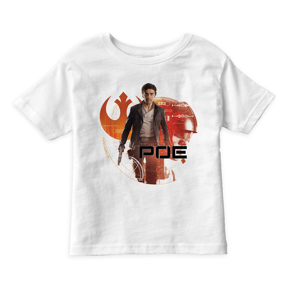 Star Wars: The Last Jedi Poe T-Shirt for Kids – Customizable