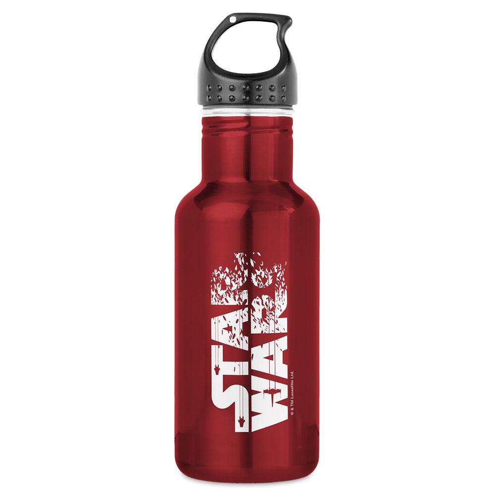 Star Wars: The Last Jedi Logo Water Bottle – Customizable