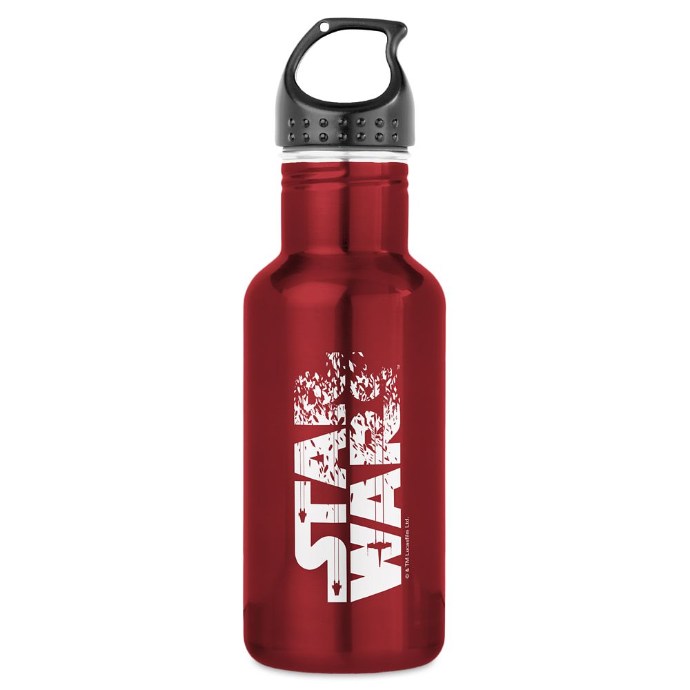 Star Wars: The Last Jedi Logo Water Bottle  Customizable Official shopDisney