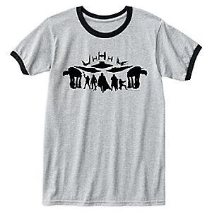Star Wars: The Last Jedi First Order Silhouette Ringer T-Shirt for Men – Customizable