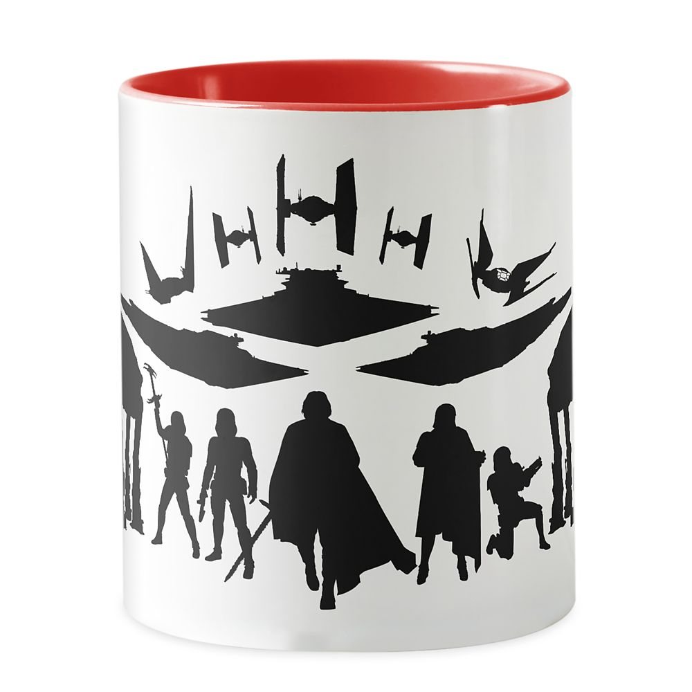 Star Wars: The Last Jedi First Order Silhouette Mug – Customizable