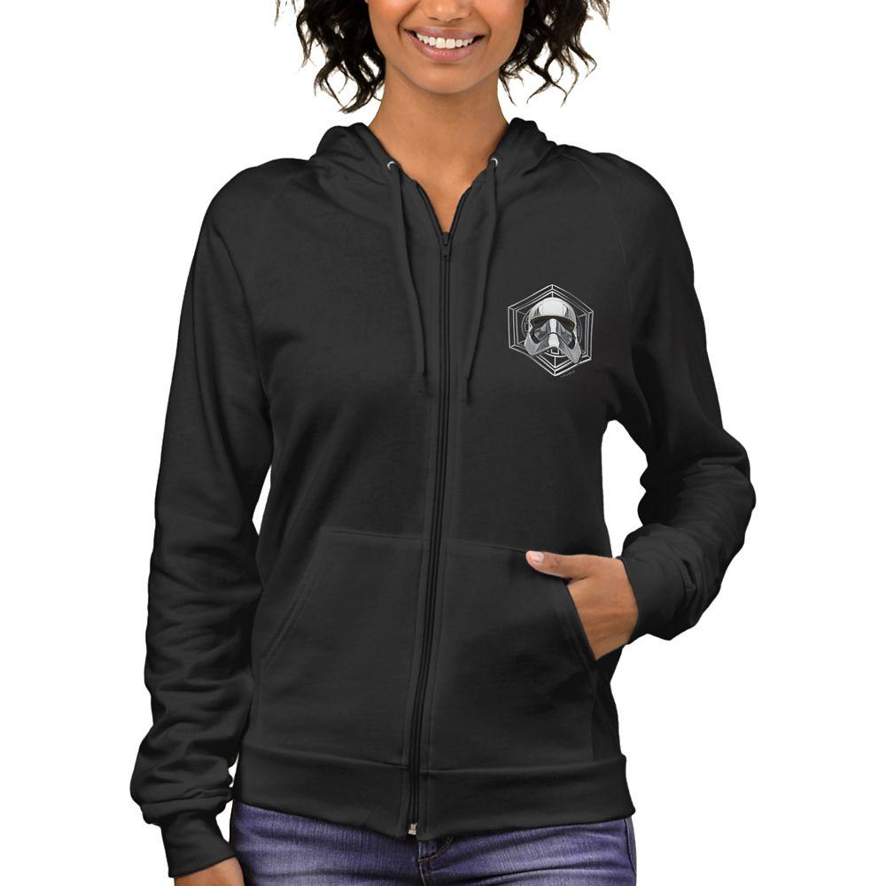 shopdisney.com - Star Wars: The Last Jedi Captain Phasma Zip Hoodie for Women  Customizable Official shopDisney 52.95 USD