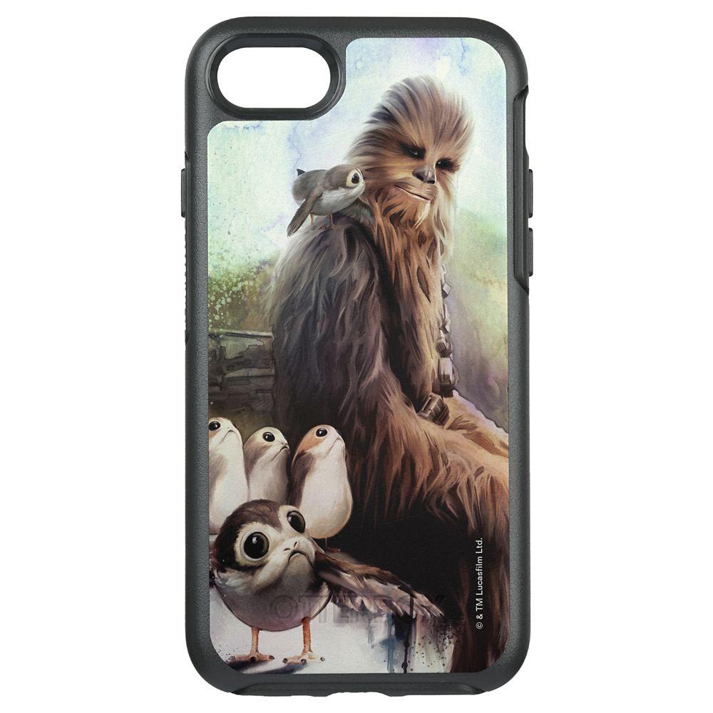 Star Wars: The Last Jedi Chewbacca & Porgs Otterbox iPhone 7 Case – Customizable