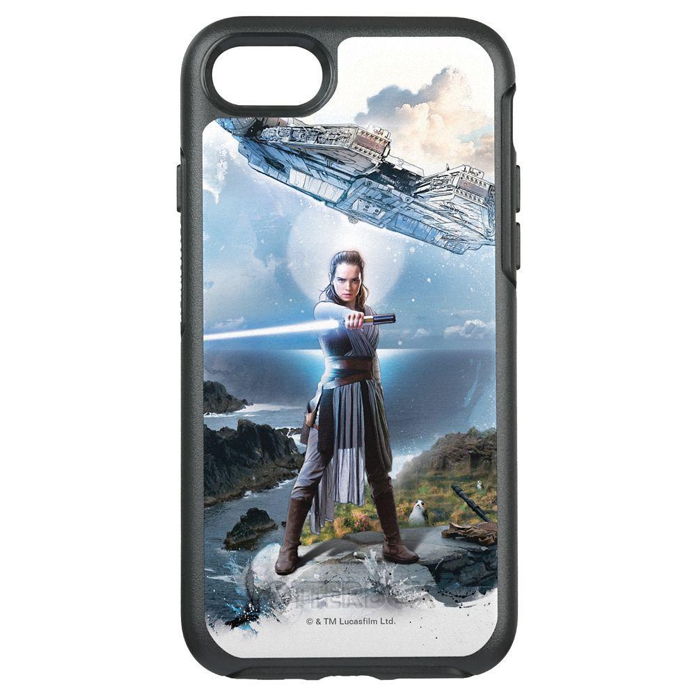Star Wars: The Last Jedi Rey & Millenium Falcon Otterbox iPhone 7 Case – Customizable