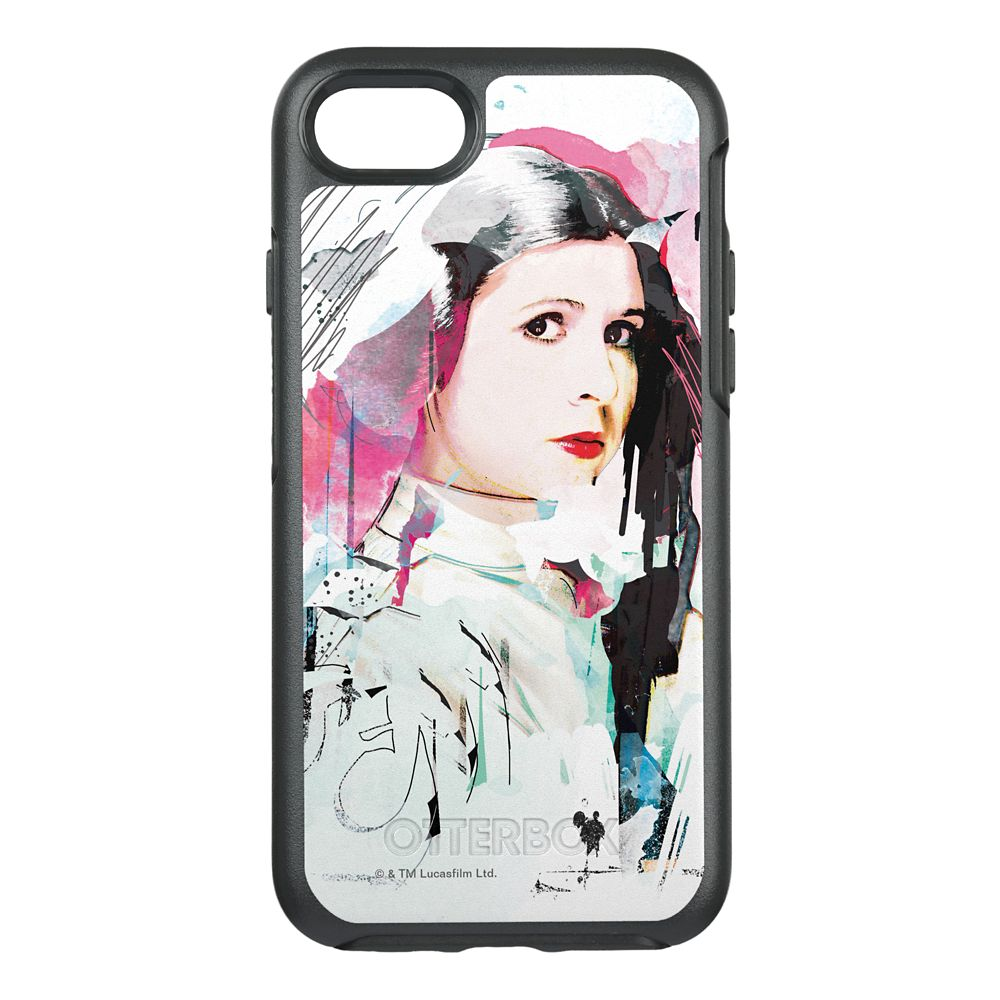 Star Wars Princess Leia Rebel Collage OtterBox Symmetry iPhone 7 Case   Customizable Official shopDisney