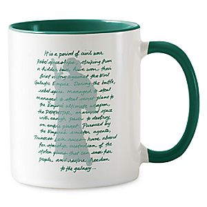 Princess Leia Quote Coffee Mug - Customizable 7200001676ZESP
