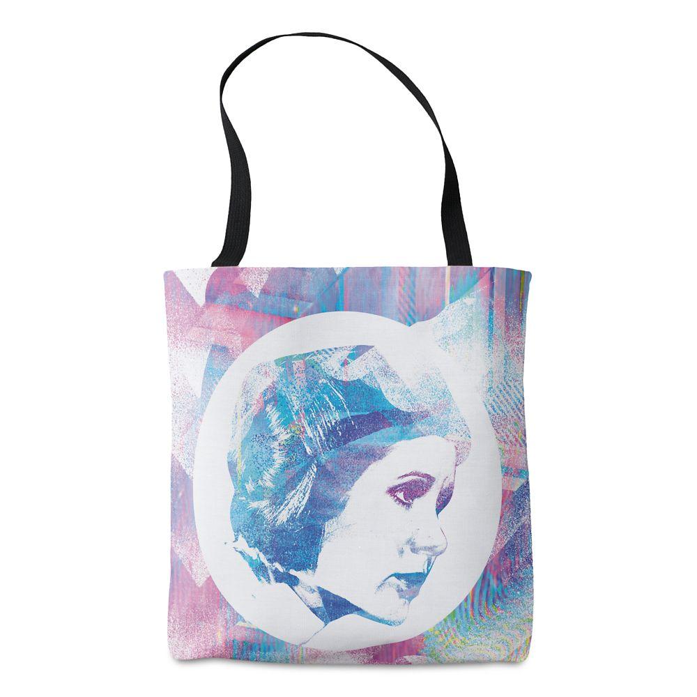 Princess Leia Iridescent Pop Print Tote – Star Wars – Customizable