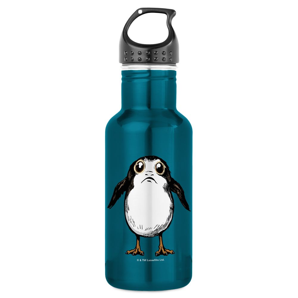 shopdisney.com - Star Wars: The Last Jedi Porg Water Bottle  Customizable Official shopDisney 21.95 USD