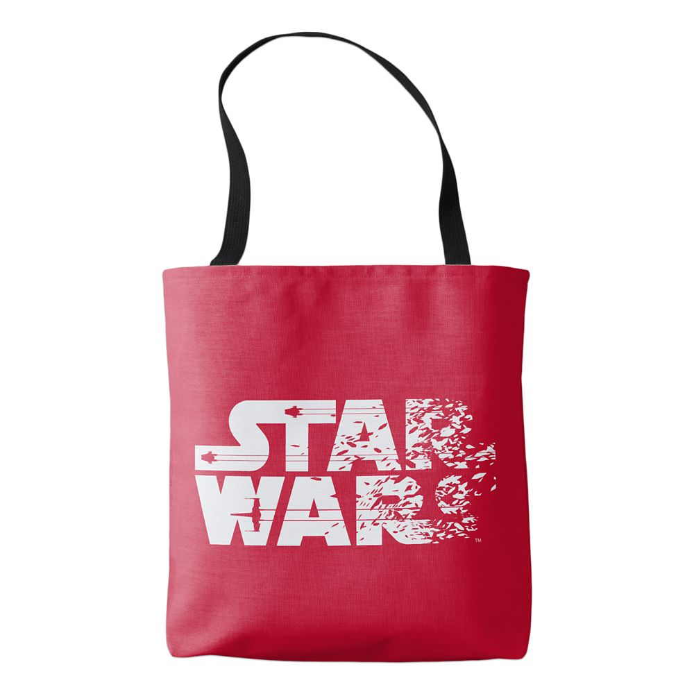 Star Wars: The Last Jedi Logo Tote  Customizable Official shopDisney