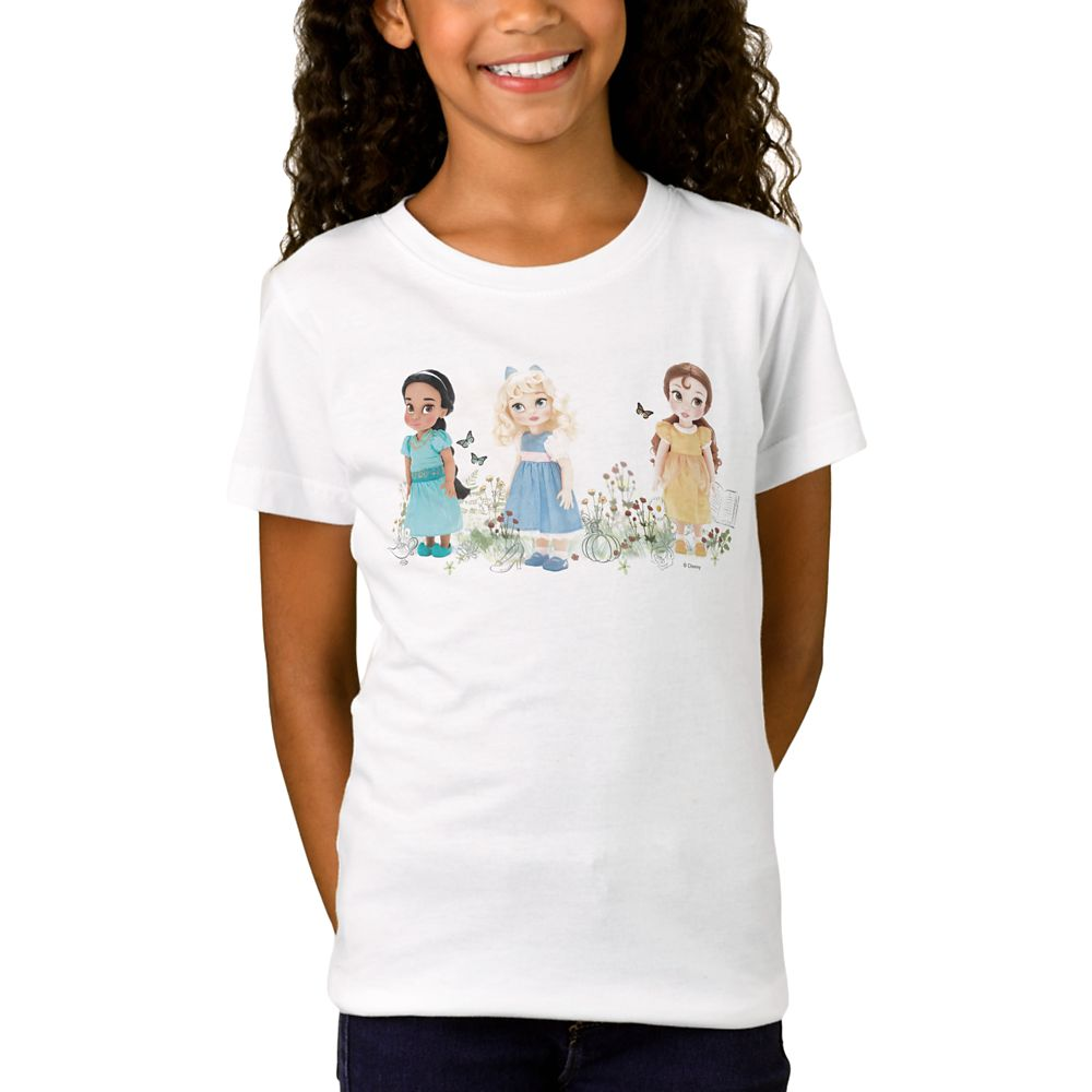 Disney Animators' Collection Disney Princess T-Shirt for Girls – Customizable