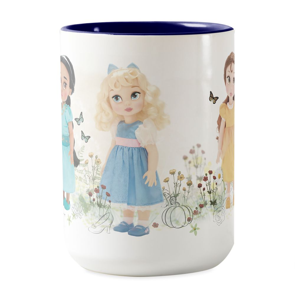 Disney Animators' Collection Disney Princesses Two-Tone Coffee Mug  Customizable