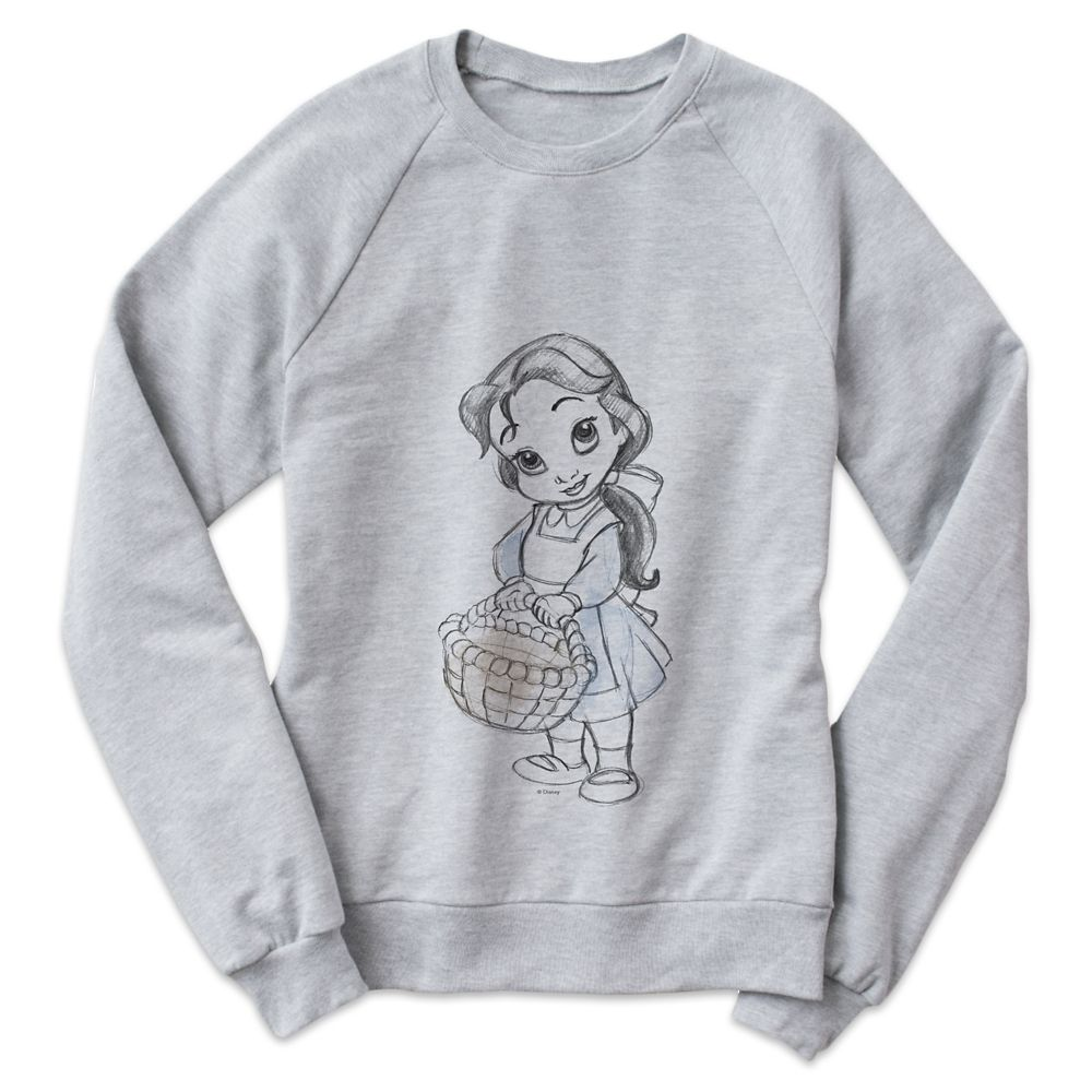 Belle Disney Animators' Collection Sweatshirt for Women – Customizable