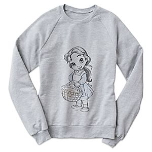 Belle Disney Animators' Collection Sweatshirt for Women - Customizable