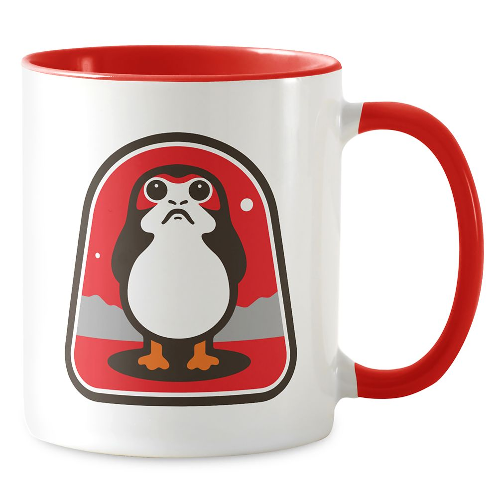 Star Wars: The Last Jedi Porg Badge Mug – Customizable
