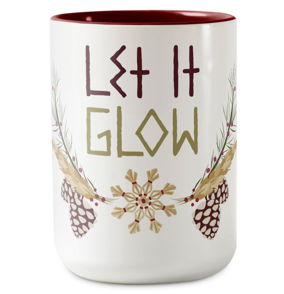 Olaf's Frozen Adventure Let It Glow Coffee Mug – Customizable