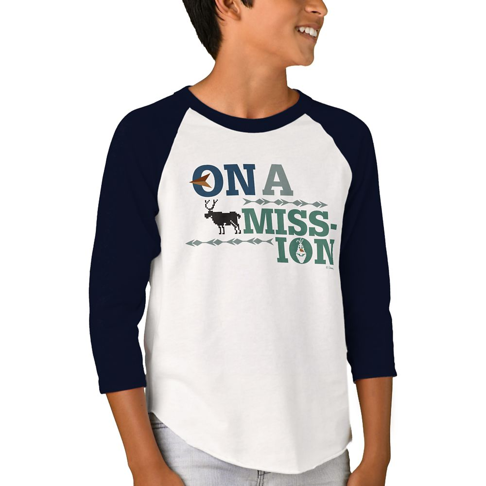 Olaf's Frozen Adventure Raglan T-Shirt for Kids – Customizable