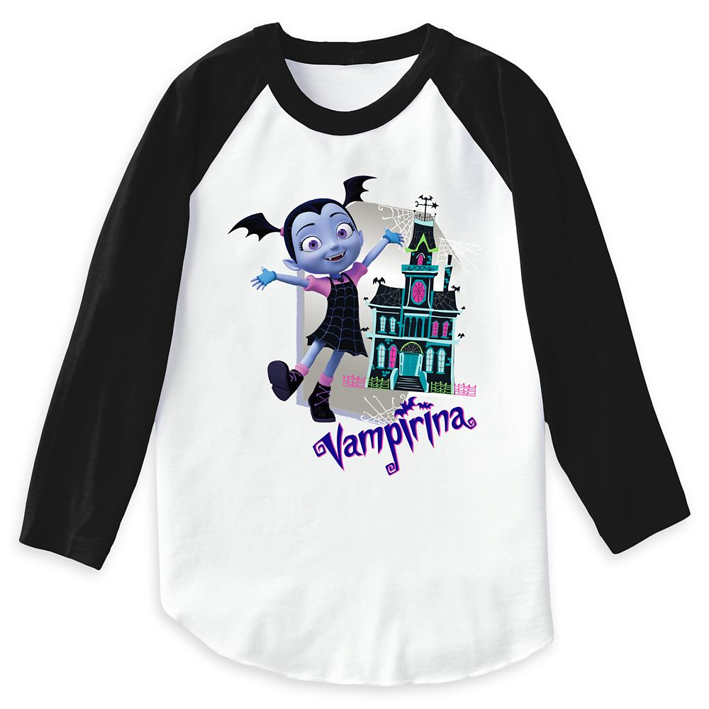 Vampirina Raglan Top – Girls – Customizable