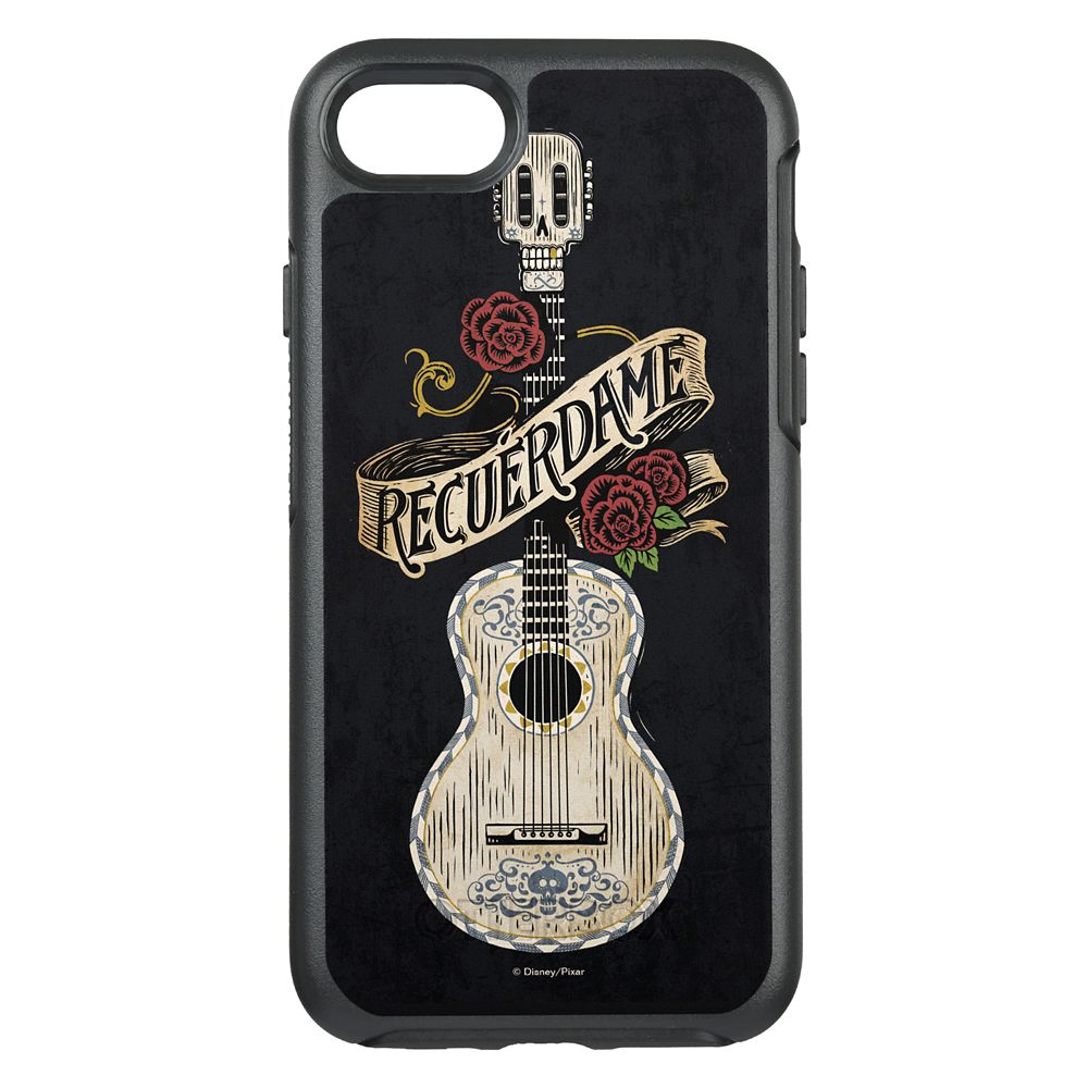 Coco Recuerdame Guitar Graphic OtterBox Symmetry iPhone 8/7 Case