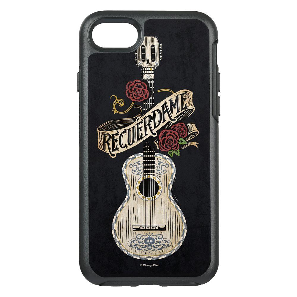 Coco Recuerdame Guitar Graphic OtterBox Symmetry iPhone 8/7 Case
