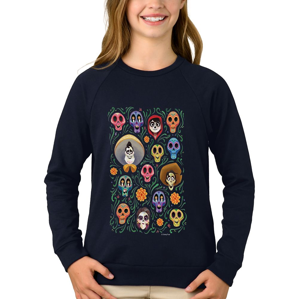 Coco Land of the Dead Poster Sweatshirt for Girls – Customizable