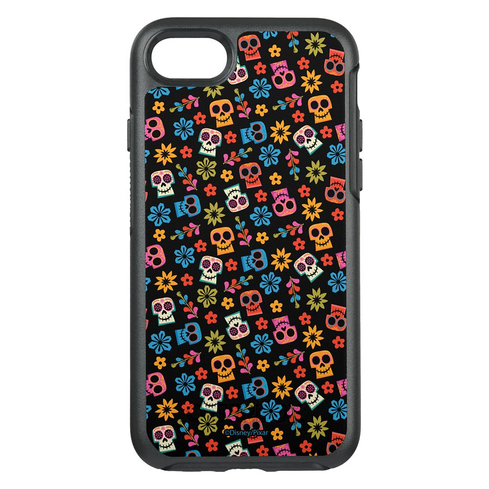 Coco Colorful Skull and Floral Pattern OtterBox Symmetry iPhone 8/7 Case – Customizable