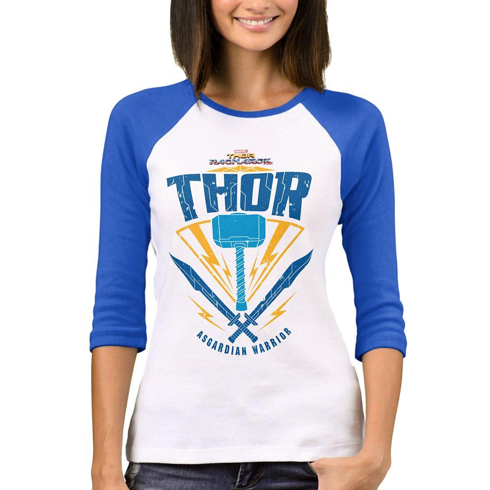 Thor: Ragnarok Asgardian Warrior Weapon Raglan T-Shirt for Women – Customizable