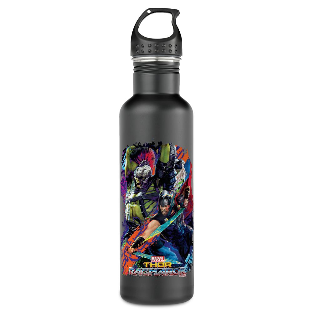 Gladiator Hulk & Thor In Battle Water Bottle – Thor: Ragnarok – Customizable