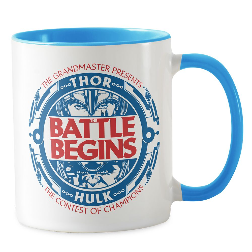 Thor: Ragnarok The Battle Begins Emblem Combo Mug – Customizable