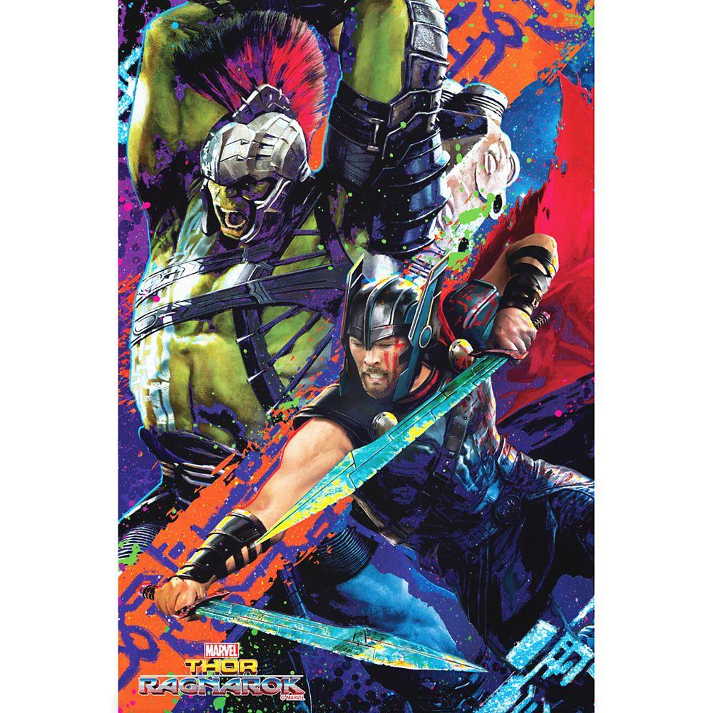 Thor: Ragnarok Gladiator Canvas Print – Customizable