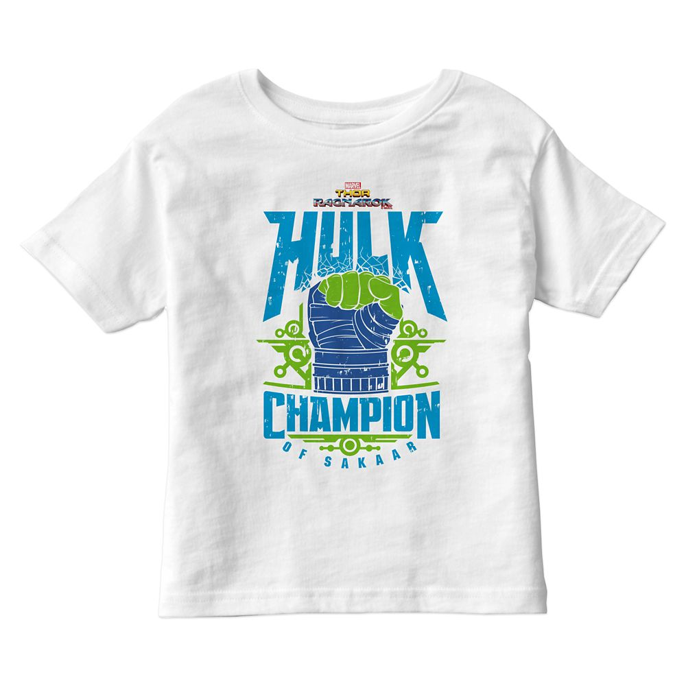 Hulk Champion of Sakaar Graphic T-Shirt for Kids – Thor: Ragnarok – Customizable