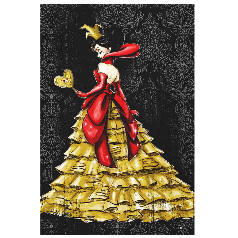 Queen of Hearts Canvas Print – Art of Disney Villains Designer Collection