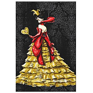 Queen of Hearts Canvas Print - Art