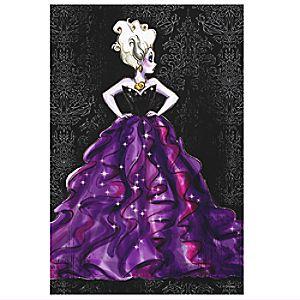 Ursula Canvas Print - Art of Disney Villains Designer Collection