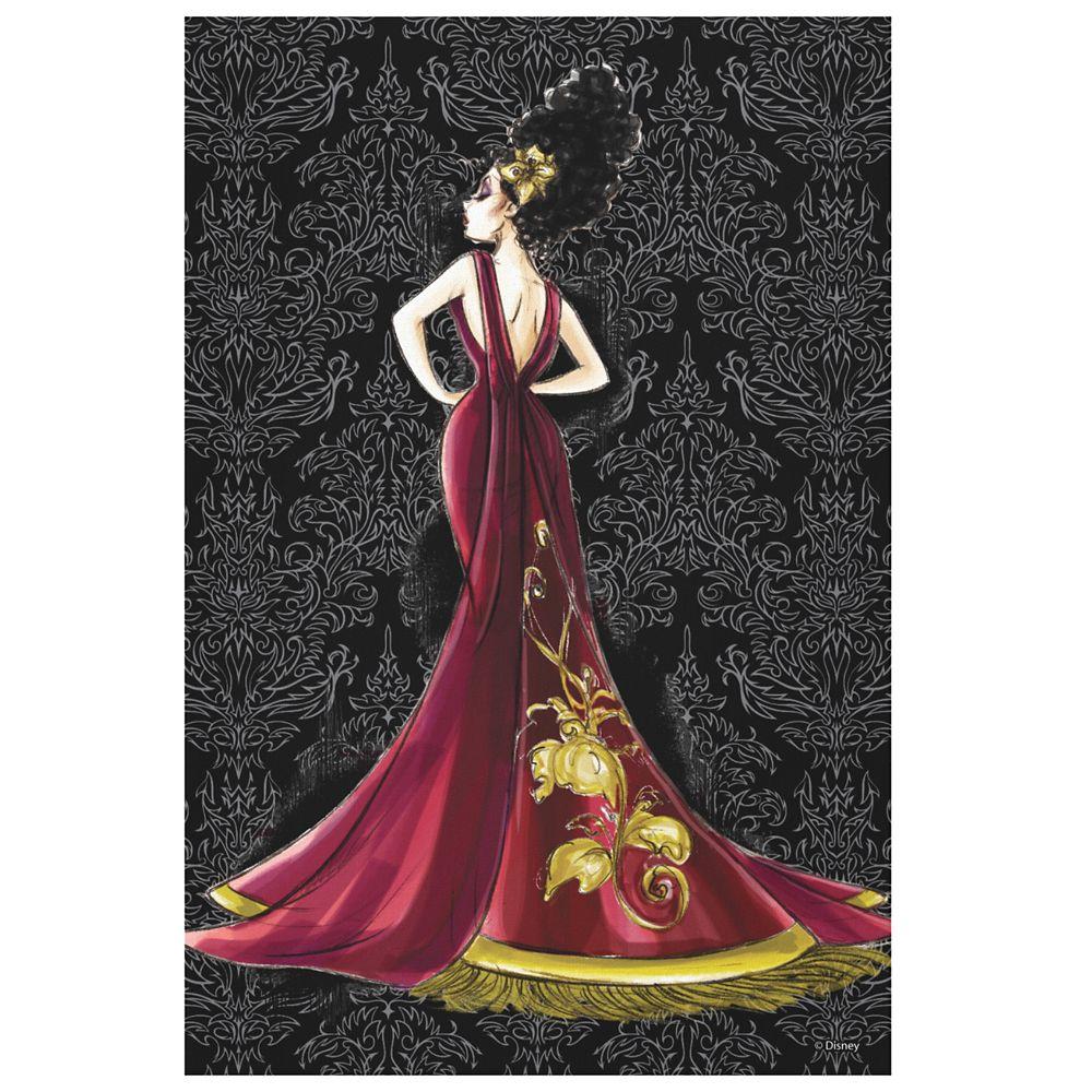 Mother Gothel Canvas Print  Art of Disney Villains Designer Collection