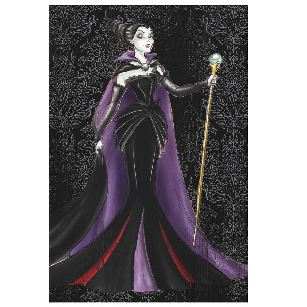 Maleficent Canvas Print  Art of Disney Villains Designer Collection