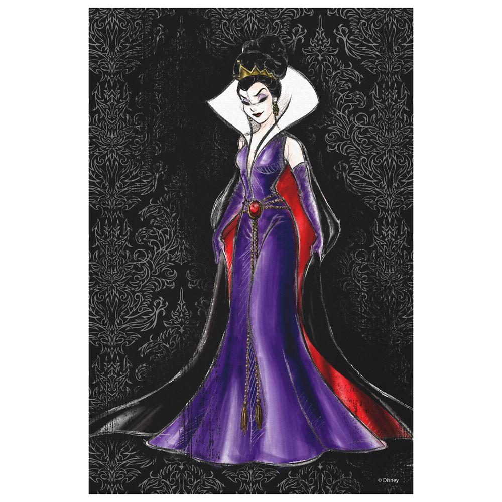 Evil Queen Canvas Print – Art of Disney Villains Designer Collection