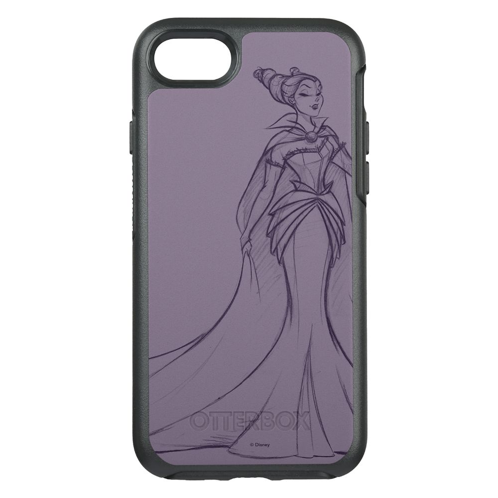 Maleficent OtterBox Symmetry iPhone 8/7 Case – Art of Disney Villains Designer Collection