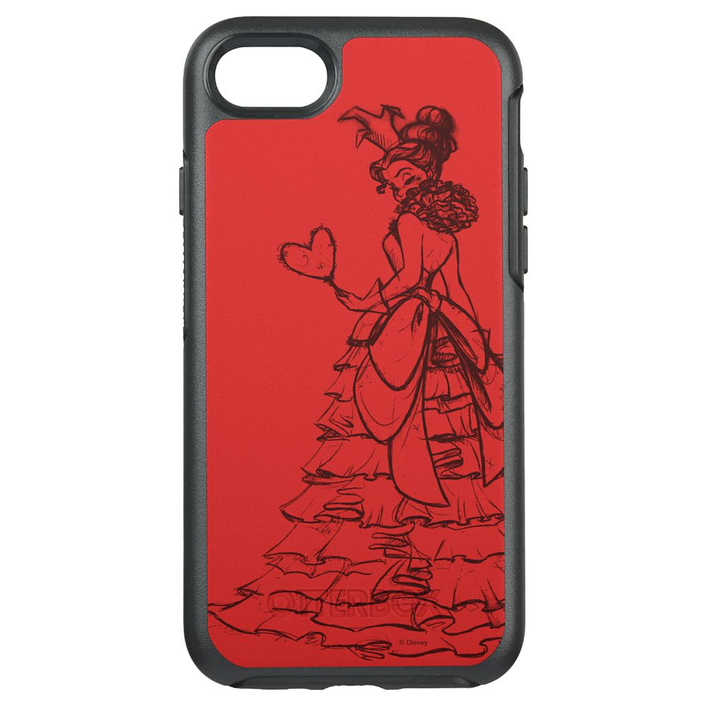 Queen of Hearts OtterBox Symmetry iPhone 8/7 Case – Art of Disney Villains Designer Collection